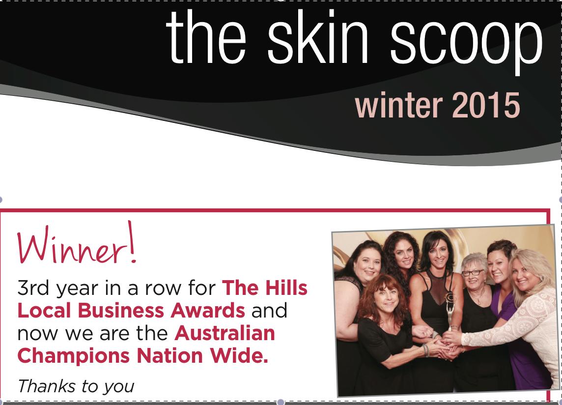 the skin scoop – winter 2015