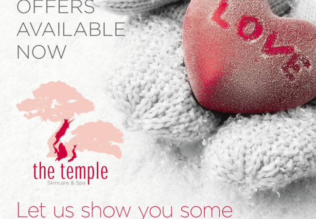 Winter Warmer promotions @The Temple Skincare & Spa