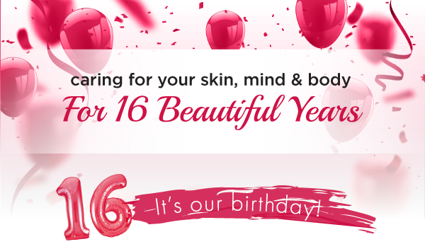 It's Our 16th Birthday!