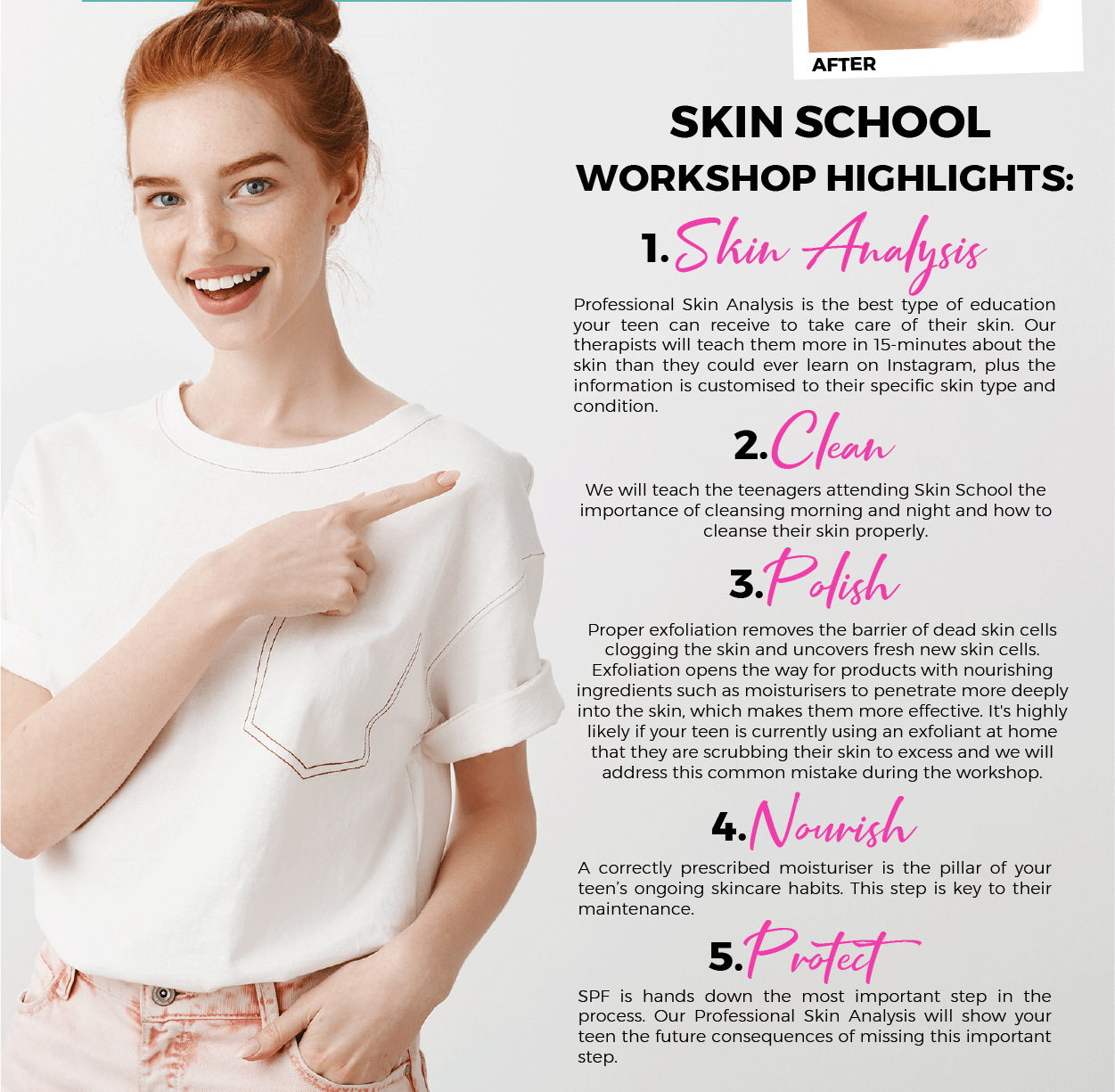 Skin School Highlights