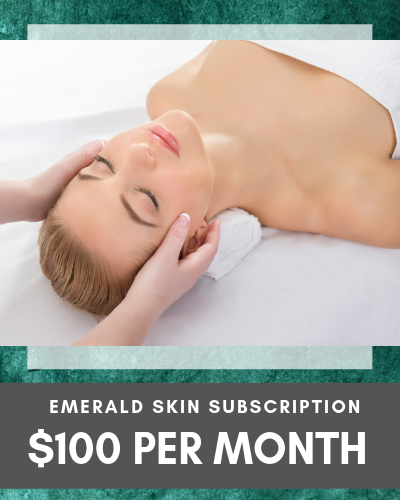 Emerald Skin Subscription $100 per month