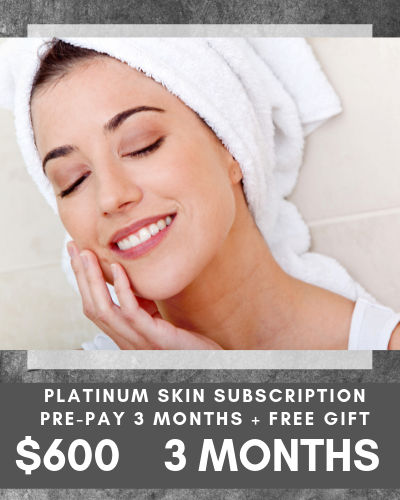 Platinum Skin Subscription $600 90 days