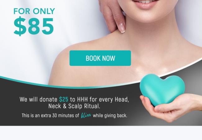 head neck scalp ritual for a cause