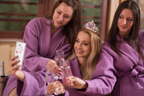 pamper party teens