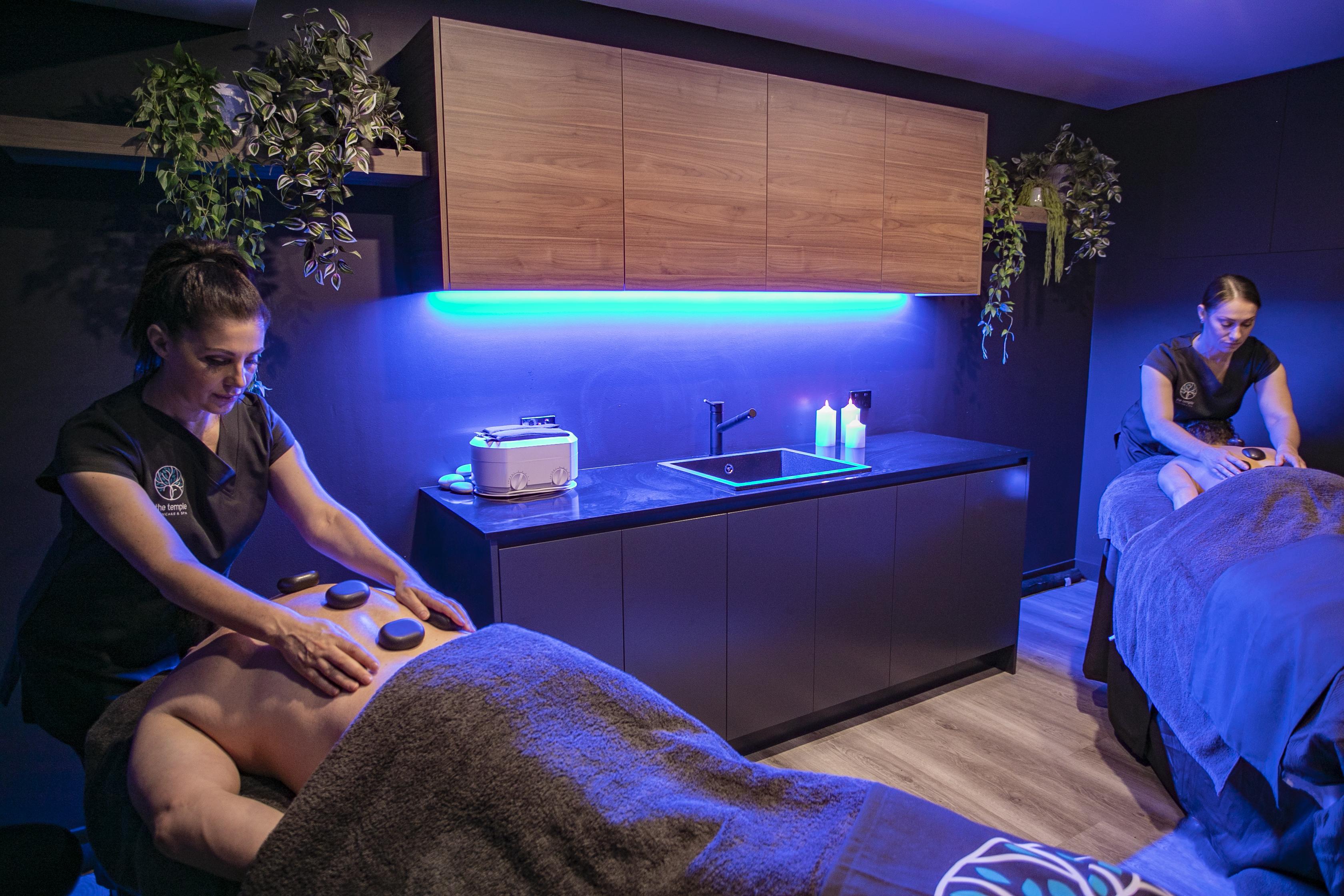 couples massage temple skincare