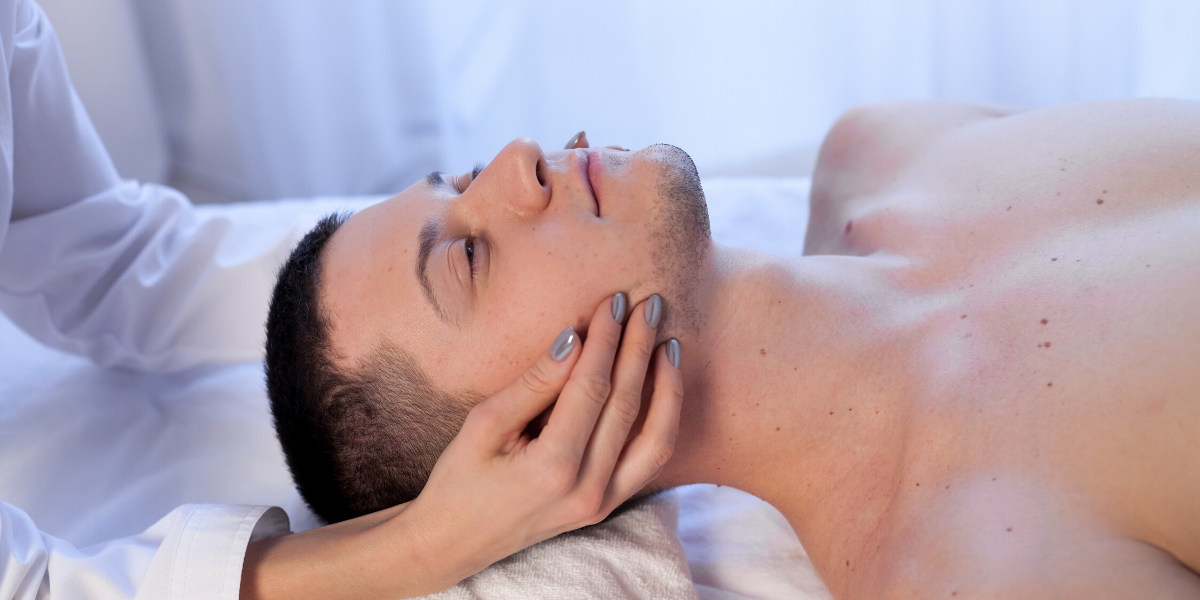 temple day spa for men