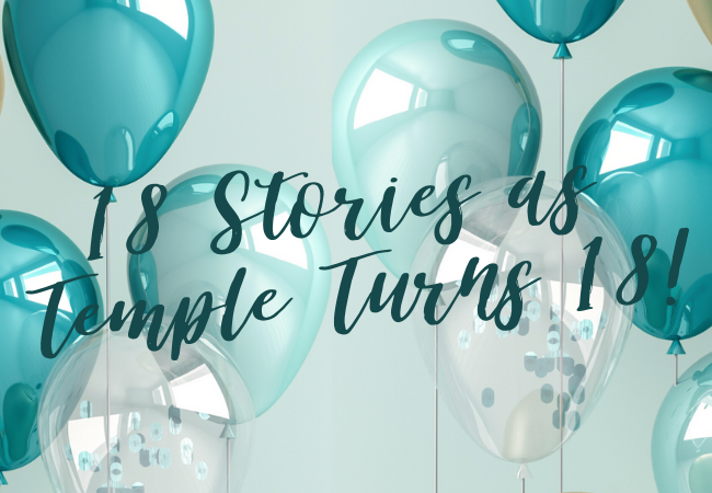 18 stories as temple turns 18