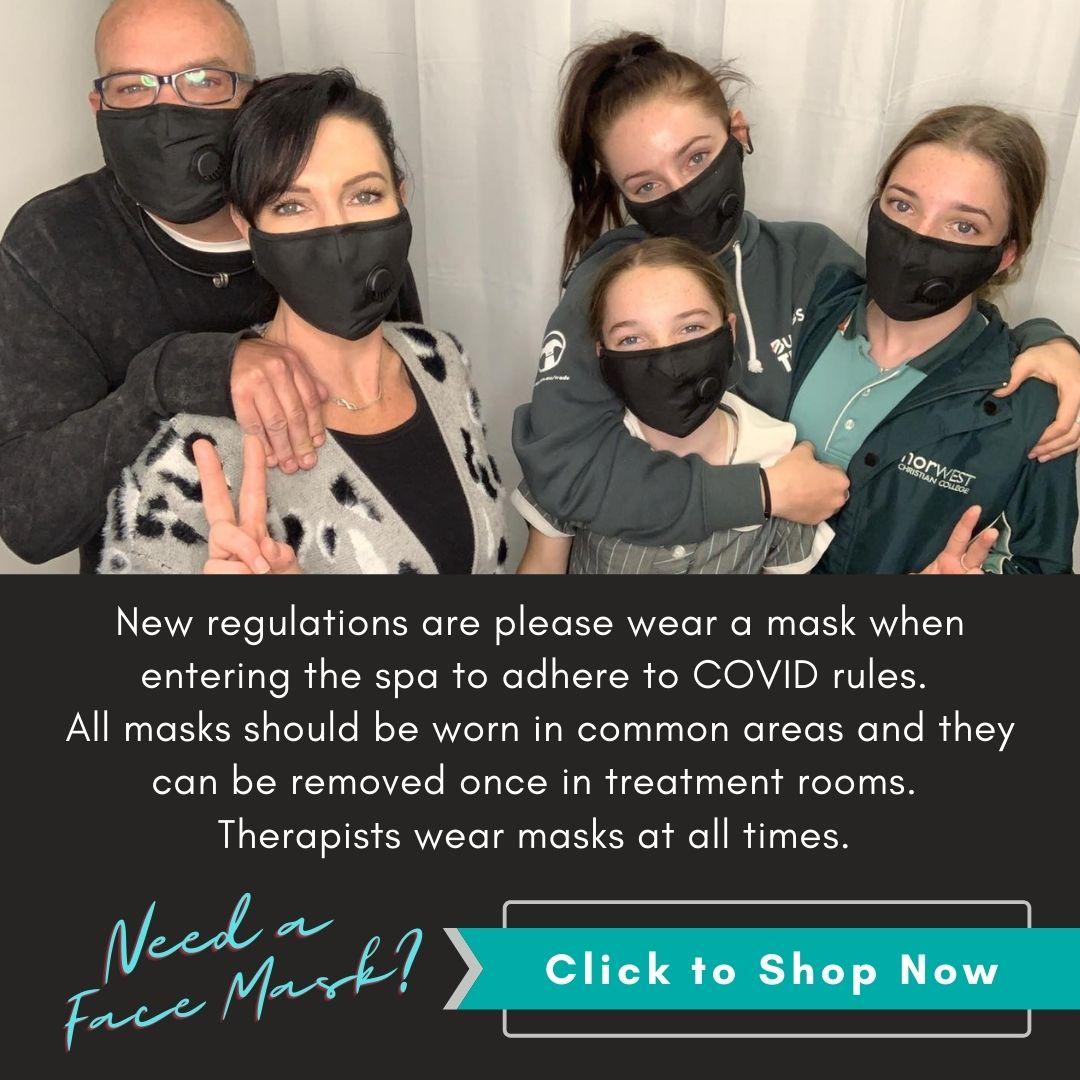 mandatory face mask