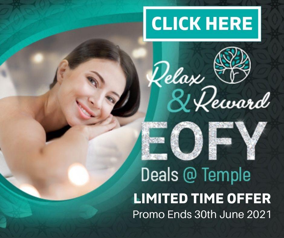 EOFY Deals Temple Skincare & Spa